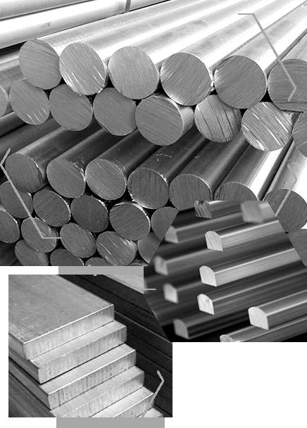 Barras de Alumínio